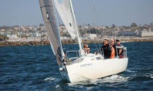 South Bay Sailing School: 90-Minute Sailing Lesson or BYOB Cruise for One, Two, or Four from South Bay Sailing School (Up to 52% Off)