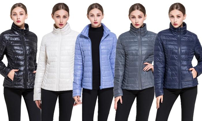 b4c7d1e9fc0f6 Bel-Air Women's Puffer Jacket   Groupon Goods