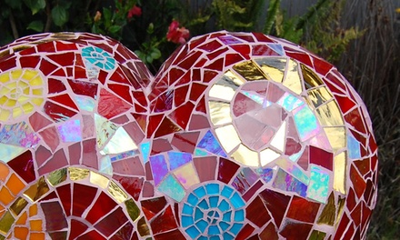 $79 for a One-Day Beginner Mosaic Workshop at Santa Barbara School of Mosaic Art ($165 Value)