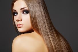 LUX LOOKS SALON: $175 for Keratin Straightening Treatment ($350 Value) at Lux Looks Salon