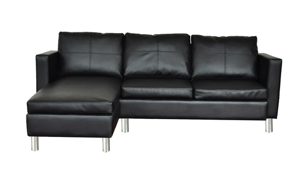 vidaxl eck sofa kombination groupon goods. Black Bedroom Furniture Sets. Home Design Ideas