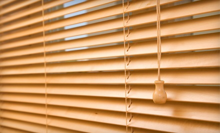 Custom Blinds from Direct Home Decor (Up to 65% Off). Two Options Available.