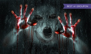 Haunted Scarehouse: $39 for Admission for Two on February 12 or 13, 2016 to Haunted Scarehouse ($58 Value)