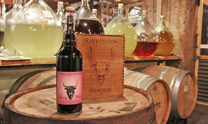 Superstition Meadery - Diamond Valley: $25 for a Mead Tasting and Small Plate for Two at Superstition Meadery ($42 Value)