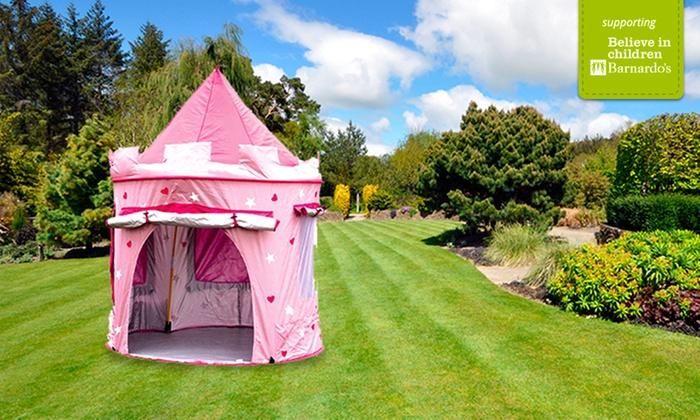 Groupon Goods Global GmbH Pop-Up Castle Play Tent in a Choice of Colour ... & Pop-Up Castle Play Tent | Groupon Goods