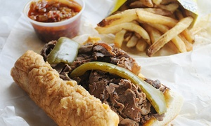 Al's Italian Beef: Italian-Beef Sandwiches, Sausages, and Fries at Al's Italian Beef (30% Off). Two Options and Five Locations Available.