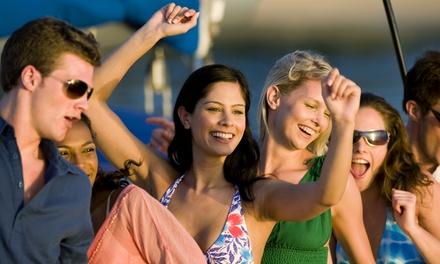 Yacht Party Cruise for One, Two, or Four from OnCruises.com (Up to 55% Off). Six Options Available.
