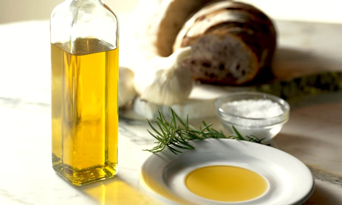 Oliva! Gourmet Olive Oils & Vinegars - Multiple Locations: $10 for $20 Worth of Olive Oil and Balsamic Vinegar at Oliva! Gourmet Olive Oils & Vinegars