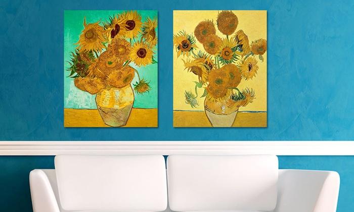 "16""x20"" Vincent van Gogh Print on Metal"