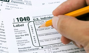 Firm1040: Tax Preparation Services for an Individual or Small Business from Firm1040 (Up to 65% Off)