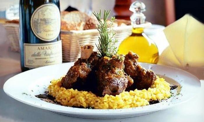 La Tavola Ristorante Italiano - Little Italy: One or Two Groupons, Each Valid for $40 Worth of Italian Dinner and Drinks at La Tavola Ristorante Italiano (Half Off)