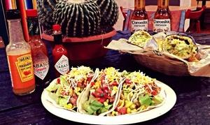 El Rancho Auténtico Sabor Mex: Menú mexicano para 2 o 4 personas con nachos y guacamole, principales y jarra de margarita desde 14,90 € en El Rancho