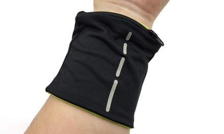 Sports Zip Pocket Wristband