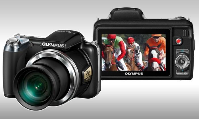 Olympus SP-810UZ 14MP Digital Camera with 36x Zoom: $149.99 for an Olympus SP-810UZ 14MP Wide-Angle Digital Camera with 36x Zoom ($299.99 List Price). Free Shipping.