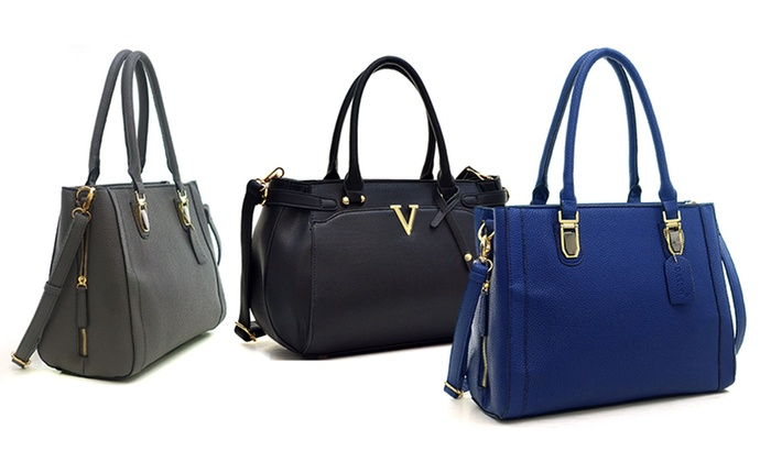 Dasein Classic Satchel Bags | Groupon Goods