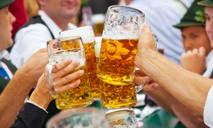 Oktoberfest: London Oktoberfest Entry Package with Meal, Beer and Crisps for Up to Four (Up to 58% Off)