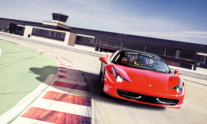 Circuit ICAR  - Multiple Locations: Two Laps Driving a Corvette, Ferrari, or Lamborghini at Circuit ICAR (Up to 50% Off). Four Options.