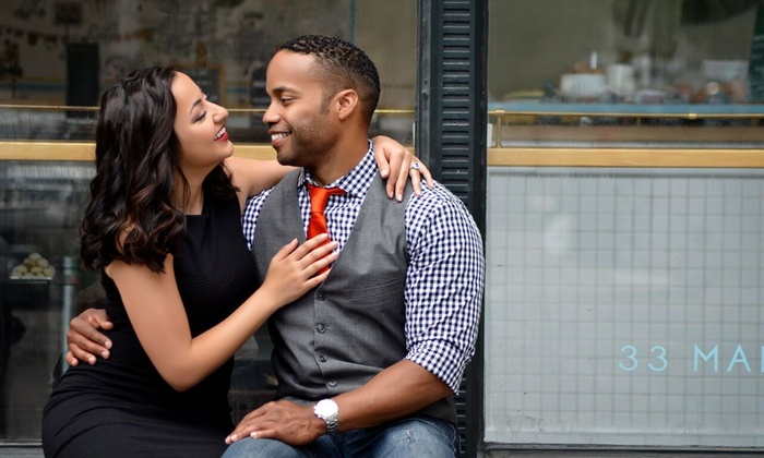 Suite 1455 - Los Angeles: 60-Minute Engagement Photo Shoot from Suite 1455 Photography  (70% Off)