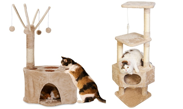 Cat Trees: Cat Trees. Multiple Options from $24.99–$39.99.