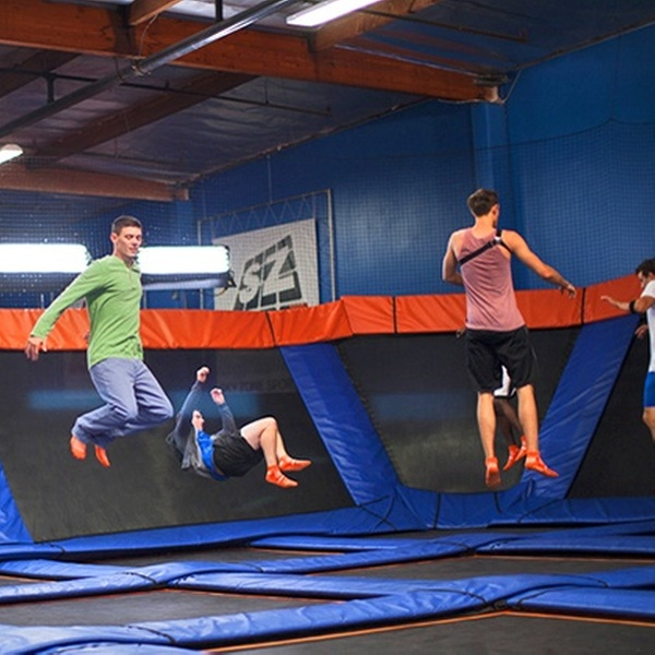 graphic relating to Printable Sky Zone Waiver called Sky Zone