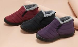 (Mode)  Boots fourrées chaudes et confortables -70% réduction