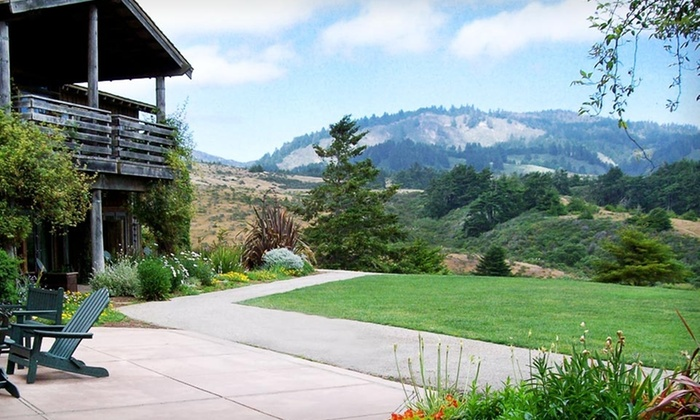 Costanoa Coastal Lodge and Camp - Half Moon Bay: Two-Night Stay for Two with One Massage and Appetizer
