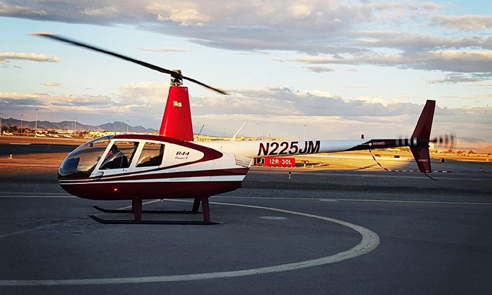 Airwork Helicopters - Airwork Helicopters: Helicopter Tour of the Strip or Red Rock Canyon for 1 or 3 People from Airwork Helicopters (Up to 70% Off)