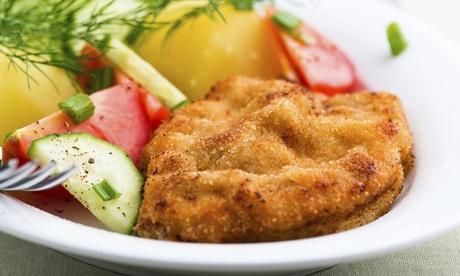 3-Gänge-Menü mit Schnitzel oder Grillteller im Wirtshaus zum lustigen Bauer