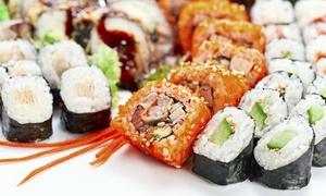 Soho Sushi: Smaki Japonii: 44-elementowy zestaw sushi (89,99 zł) lub kolacja dla dwojga (139,99 zł) i więcej opcji w Soho Sushi