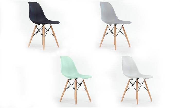6 Replica Eames Eiffel Chairs ...