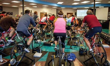 5 or 10 Indoor-Cycling Classes at Wheel & Sprocket (Up to 63% Off)