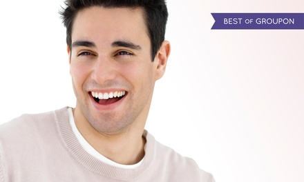 One, Two, or Three Dental Implants with Abutments and Crowns at Elite Dental Care (Up to 70% Off)