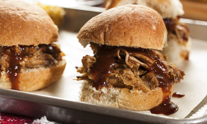 Belly Up! - Austin: $12 for a Slider Meal for Two with Fried Sweet Potatoes and Drinks at Belly Up! ($20 Value)