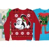 Kids' Holiday Pullover Fleece Sweaters