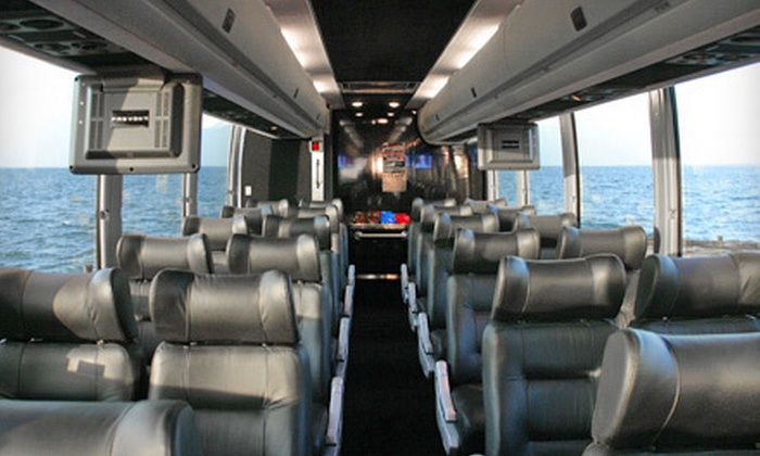 Hampton Luxury Liner - Multiple Locations: $149 for an All-Day Music-and-Wine Tour for Two from Hampton Luxury Liner ($350 Value)