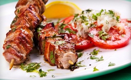 $40 Dinner Groupon - Nadims Downtown Mediterranean Grill in Springfield