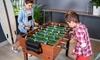Table ou plateau en bois multi-jeux