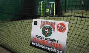 Happyfeet-legends Dallas Llc: $76 for $139 Worth of Indoor Soccer — HappyFeet-Legends Dallas LLC