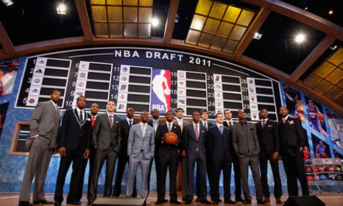 2012 NBA Draft Presented by State Farm - Newark Central Business District: One Ticket to See the 2012 NBA Draft Presented by State Farm at Prudential Center in Newark on June 28 (Up to 52% Off). Two Options Available.