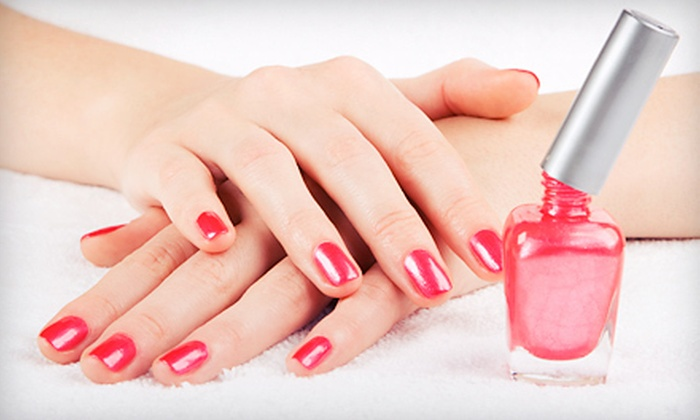 Zenity Spa - Allen: Shellac Manicure, Shea-Butter Spa Pedicure, or Both at Zenity Spa (51% Off)