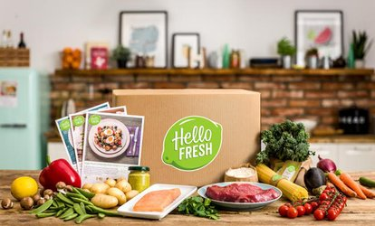 image for One or Two Weeks of Wholesome Cook-at-Home Meals for Two or Four from HelloFresh (Up to 59% Off)