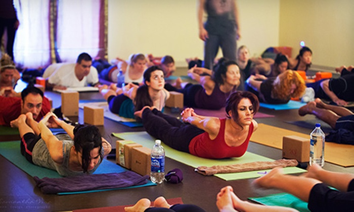 Krama Yoga Center - Southwest Carrollton: 5 Yoga Classes or One Month of Unlimited Yoga Classes at Krama Yoga Center (Up to 81% Off)
