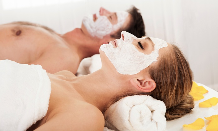 The Pink Nail & Spa - Glenview: $69 for a 50-Minute Couples Massage with a Mask for Each Person at The Pink Nail Spa ($180 Value)
