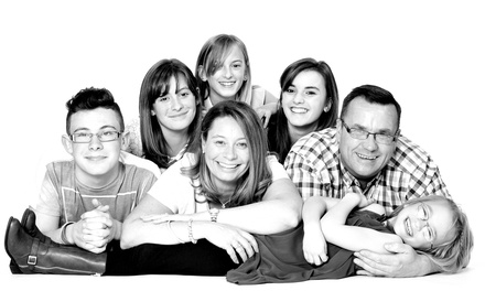 Family Photoshoot with 10 Prints at Chiswell Studios (96% Off)