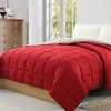 Chic Reversible Down-Alternative Comforter