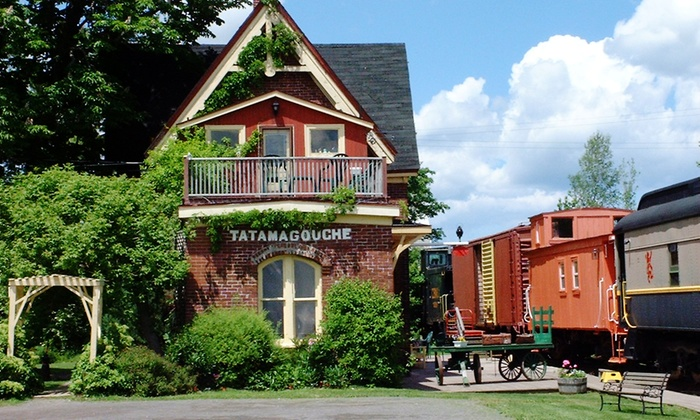 Tatamagouche Railway Dining Car - Tatamagouche: C$40 for a Steak or Seafood Dinner for Two at Tatamagouche Railway Dining Car (Up to C$83 Value)