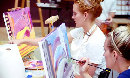 image for Two-Hour BYOB Painting Class for One or Two at Tipsy Paint Studio (Up to 50% Off)