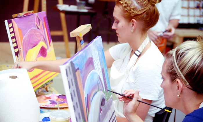 Tipsy Paint Studio Up To 47 Off Glenview Il Groupon