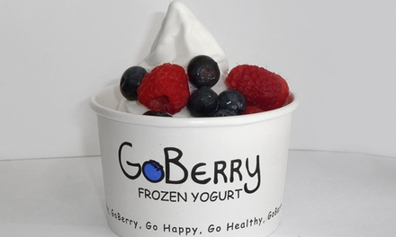 $10 for $20 Worth of Tart Frozen Yogurt at GoBerry