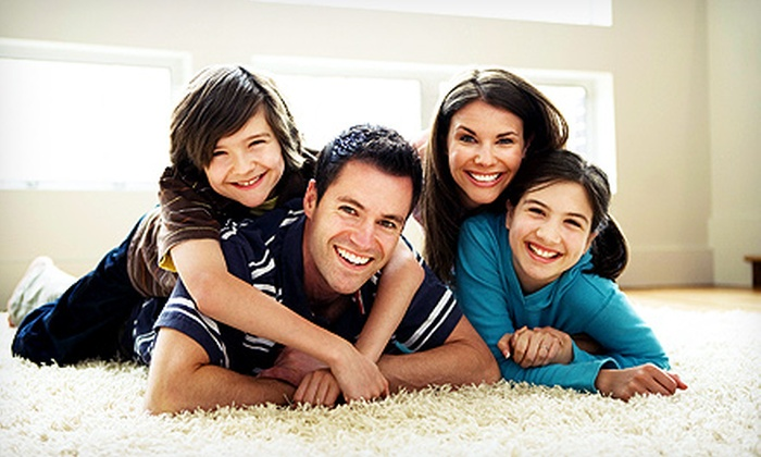 Alpha Omega Cleaning Solutions - Atlanta: Carpet Cleaning for Three Rooms and One Hallway, or a Full House from Alpha Omega Cleaning Solutions (Up to 55% Off)